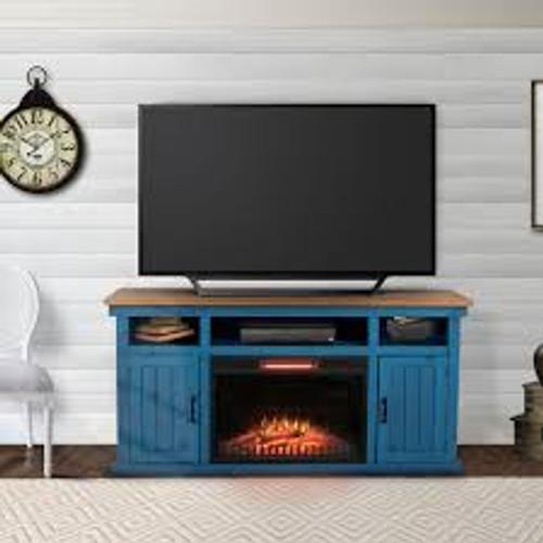 Napa TV Console - Vintage Blue