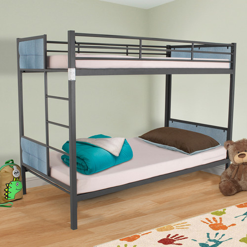 Juno Bunk Bed - Gun Powder Light Blue