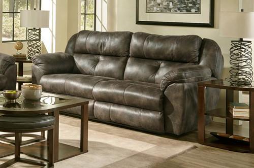 Ferrington Dual Reclining Power Sofa w/ Headrest