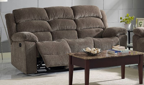 Austin Dual Reclining Power Sofa w/ Headrest