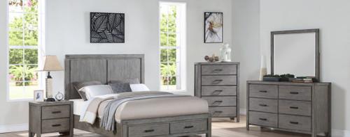 Copeland Queen Bedroom Storage Set - Gray