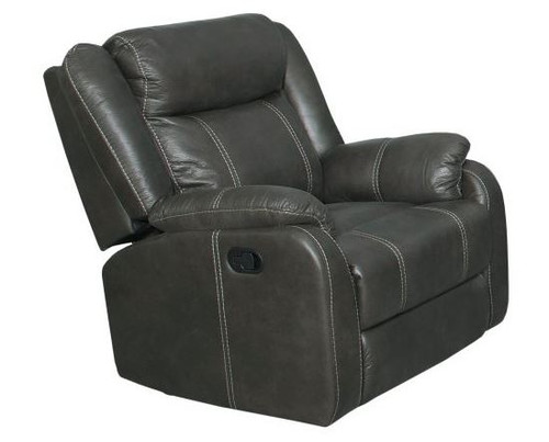 Gin Rummy Charcoal Recliner