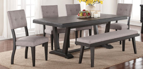 Ashen Echo 6PC Dining Set