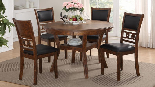 Gia Dining Set - Brown