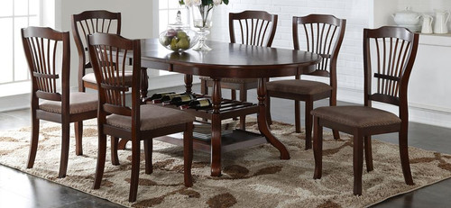 Bixby 5PC Dining Set - Espresso
