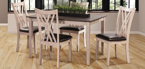 Paige Dining Table w/ 4 Chairs