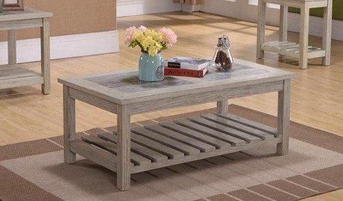 Artisan Gray Castered Cocktail Table