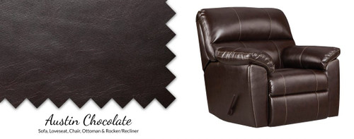 2450 Austin Chocolate Recliner
