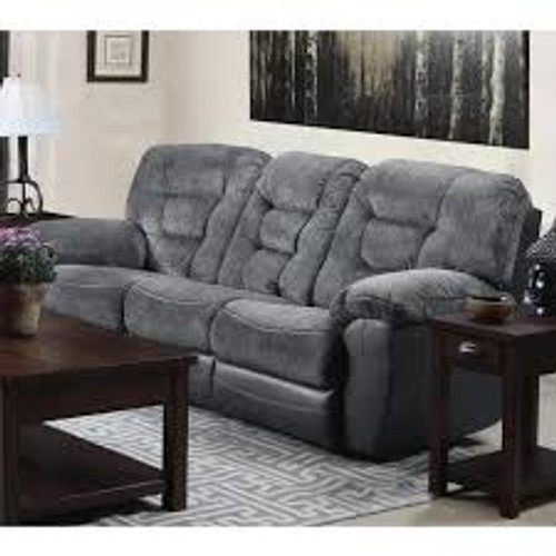 Darcy Charcoal Power Reclining Sofa