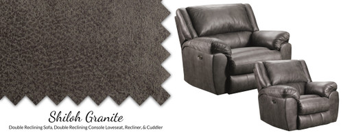 Shiloh Granite Cuddler Recliner