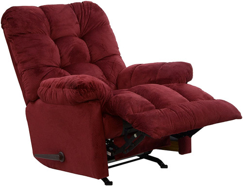 Nettles Chaise Rocker Recliner with Heat & Massage