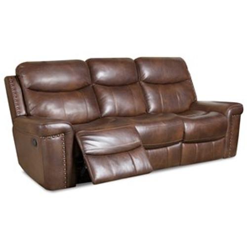 Waylon Mocha Power Sofa