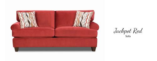 Jackpot Red Sofa