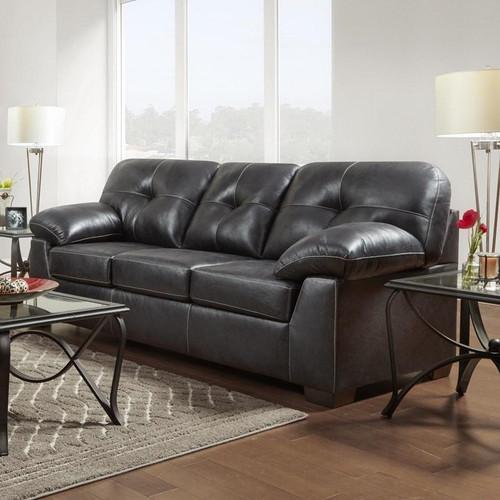 Nevada Black Sofa