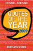 Share, Bernard / Quotes of the Year 2009