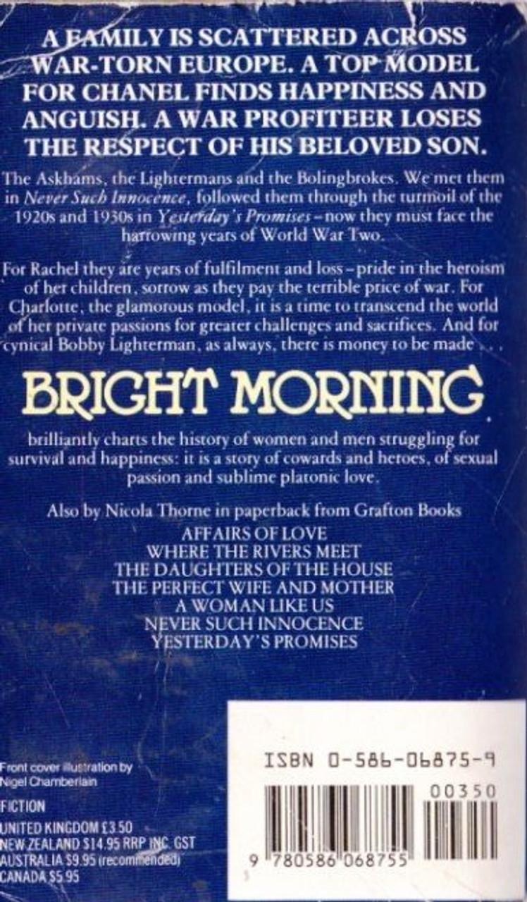 Thorne Nicola Bright Morning Thebookshop