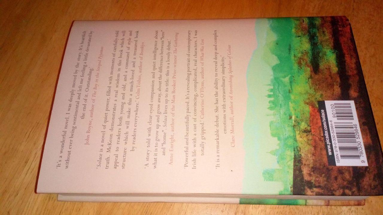 McKeon, Belinda - Solace - SIGNED Hardcover 1st Edition Debut 2011