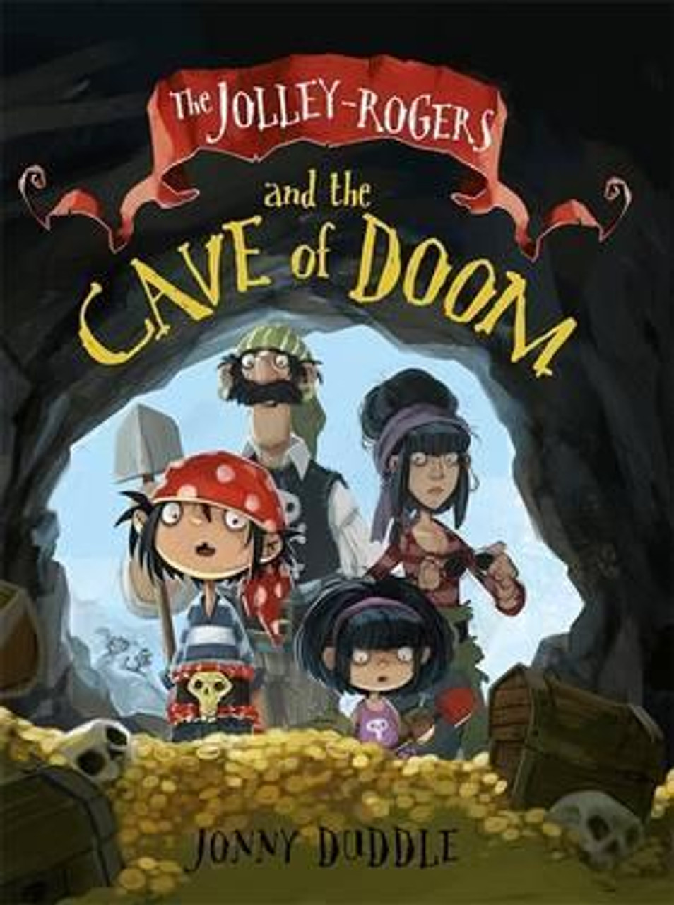 Duddle, Jonny / The Jolley-Rogers and the Cave of Doom