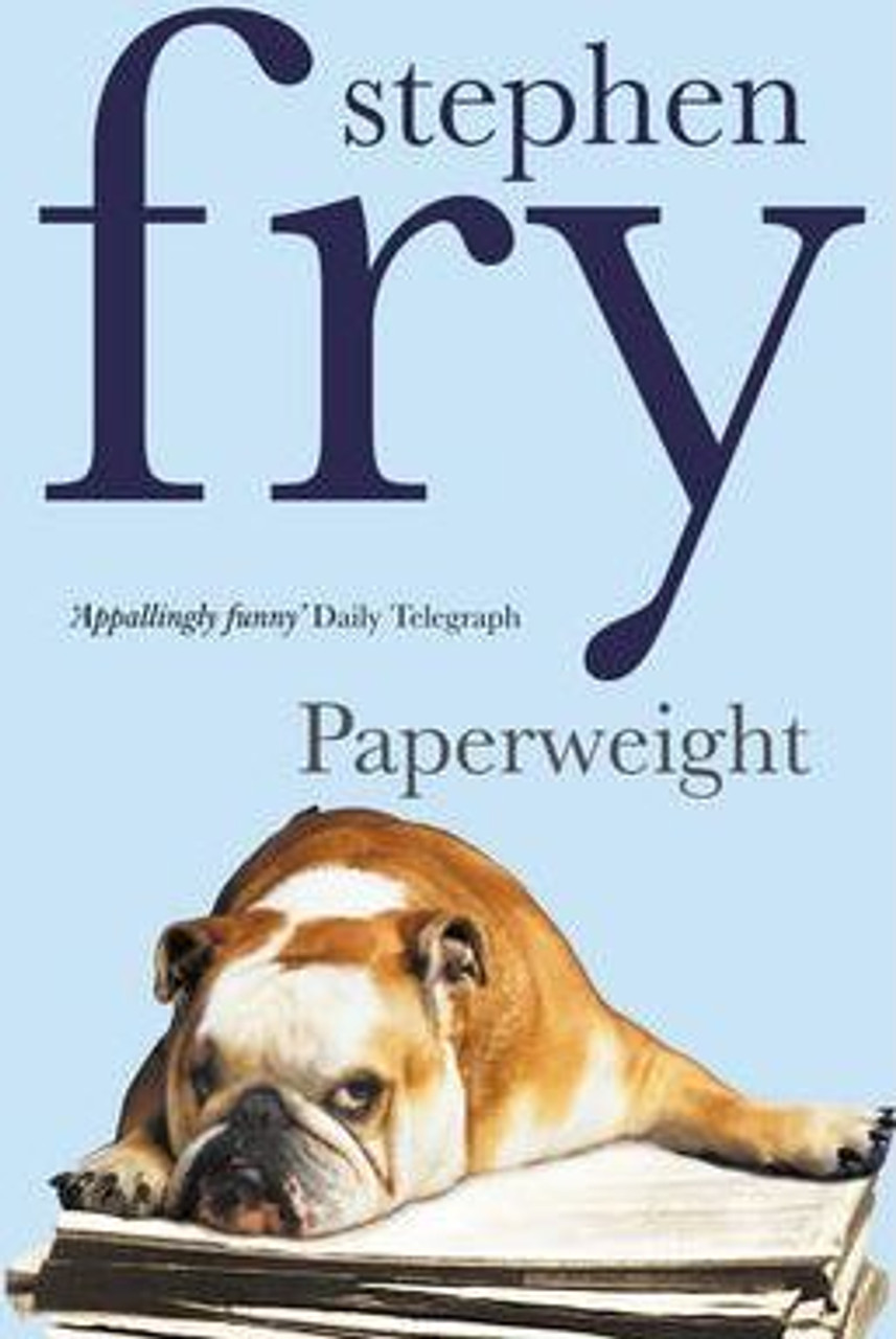 Fry, Stephen / Paperweight
