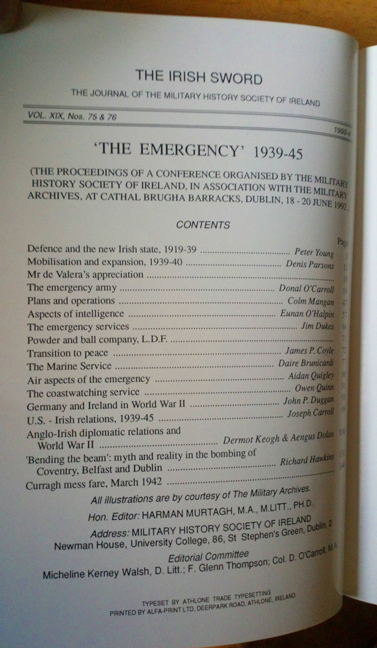 contents page