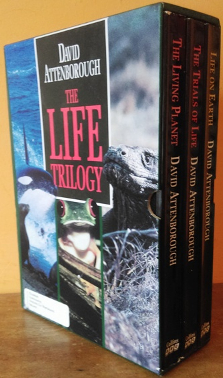 David Attenborough: The Life Trilogy (3 Book Box Set)