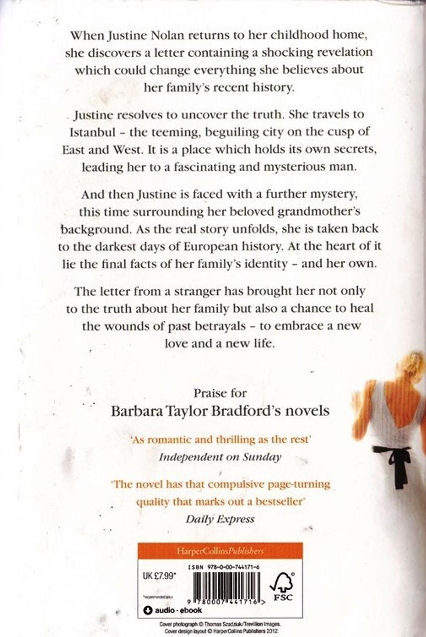 Taylor Bradford Barbara Letter From A Stranger Thebookshop
