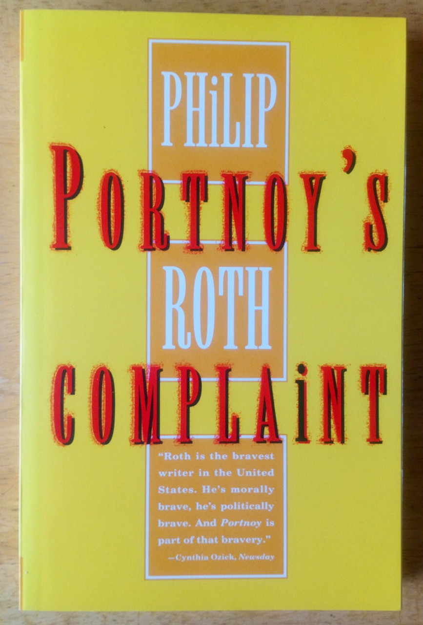 Roth, Philip - Portnoy's Complaint USA Pb 25th Anniversary Ed