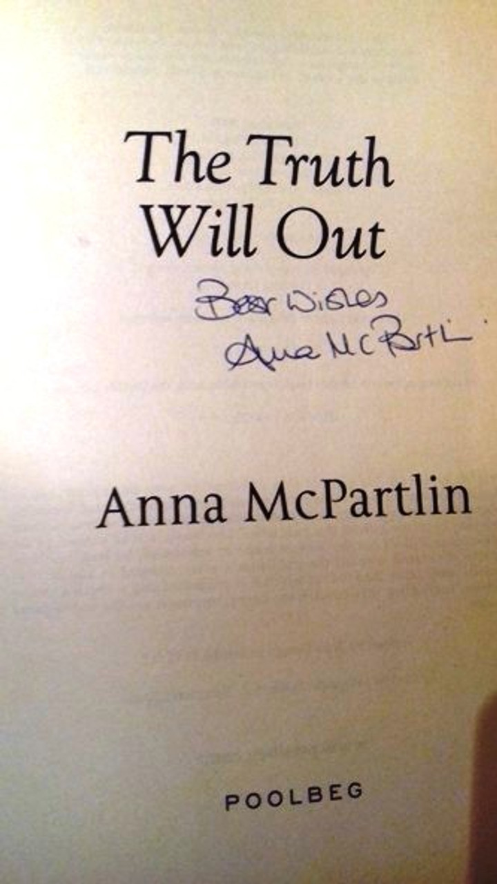 Anna McPartlin / The Truth Will Out (Large Paperback) (Signed by the Author) (1)