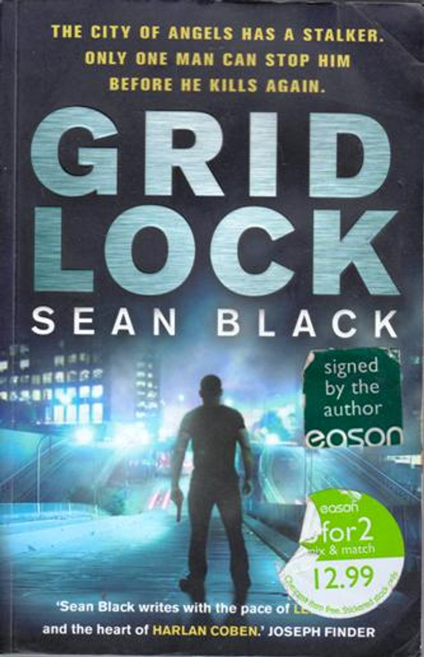 Sean Black / Gridlock (Large Paperback) (Signed by the Author)