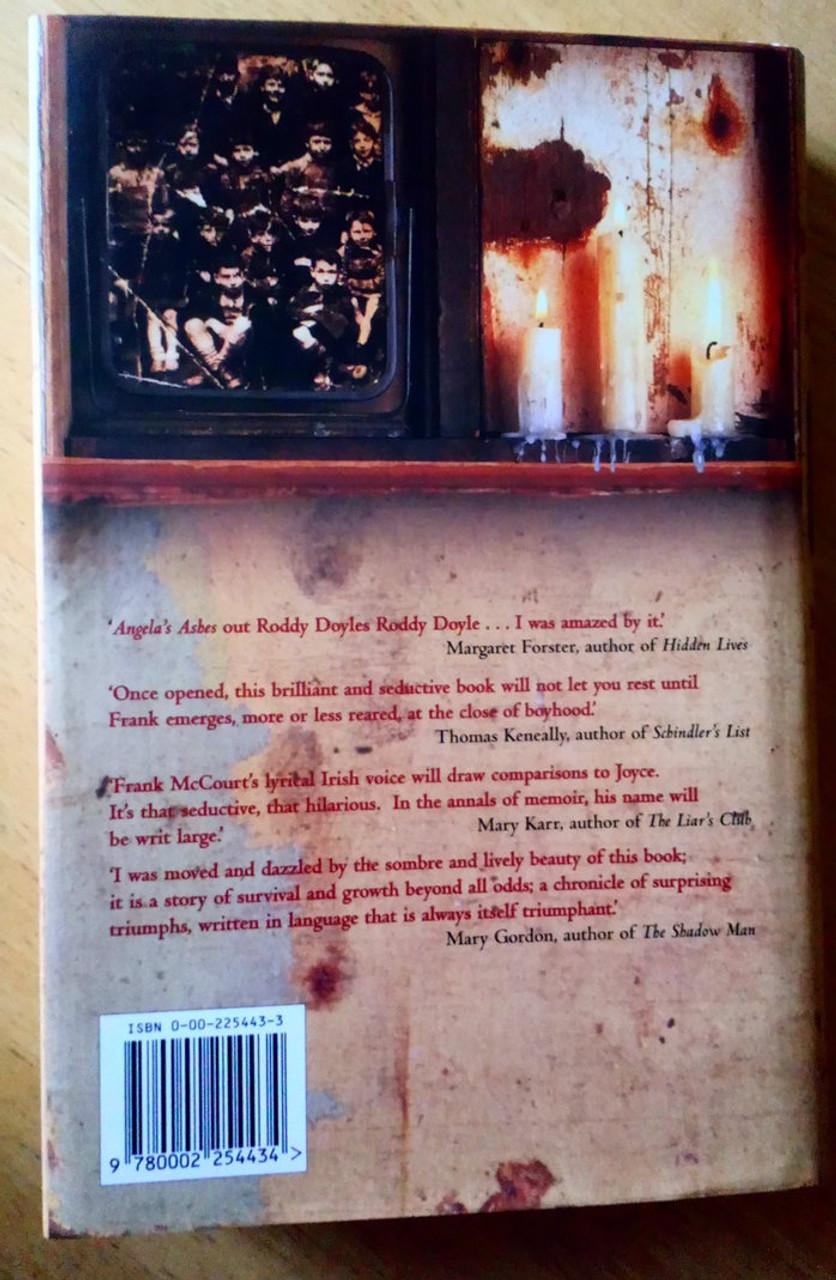 McCourt, Frank - Angela's Ashes - SIGNED HB 1st Edition Limerick 1996