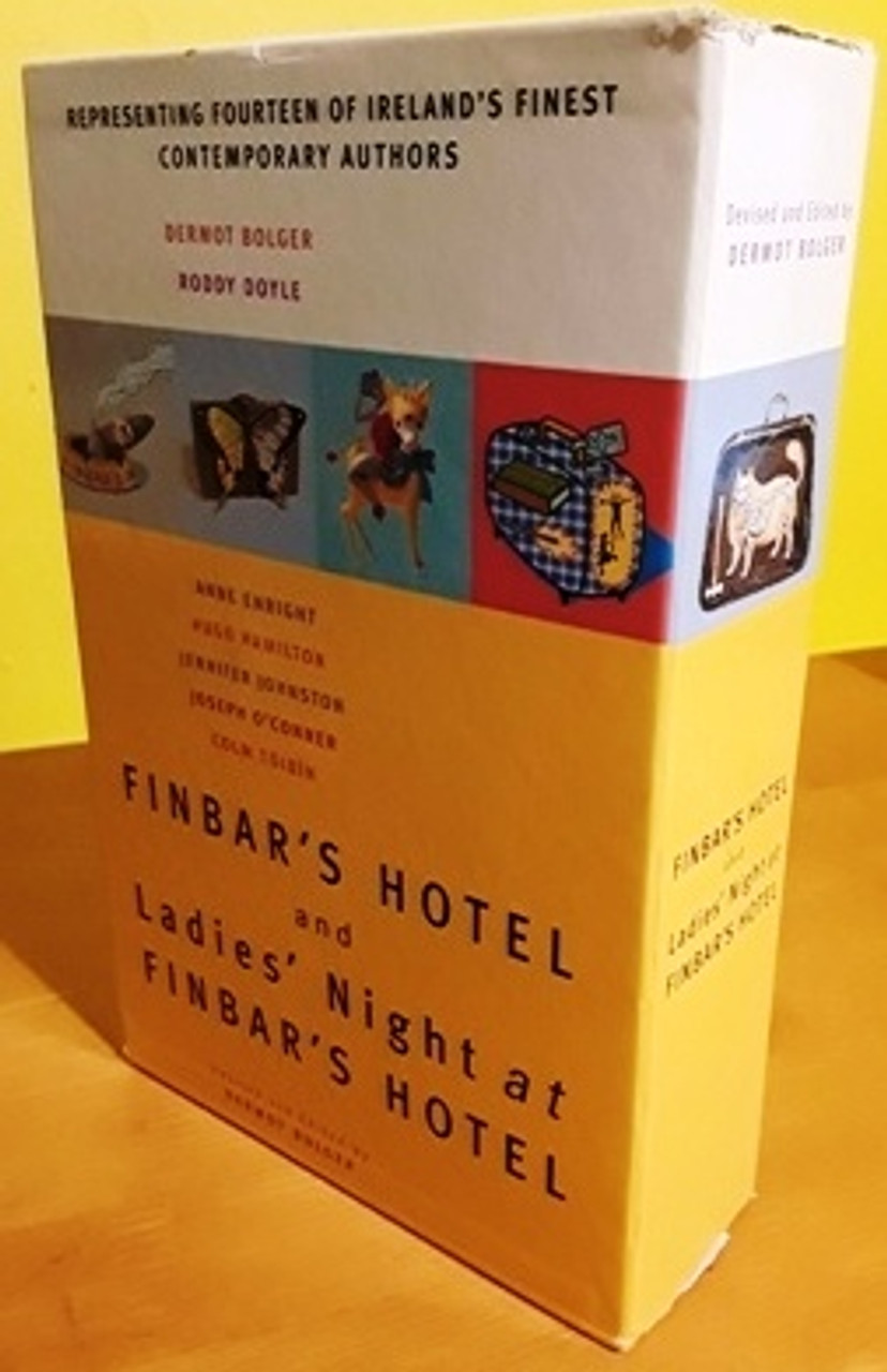 Dermot Bolger (Editor) Finbar's Hotel & ladies night at Finbar's Hotel (Complete 2 Book Box Set)