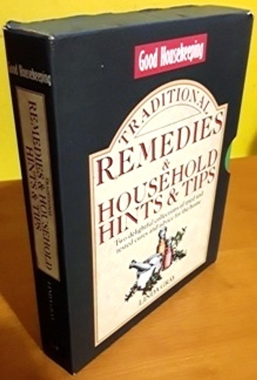 Good Housekeeping: Traditional Remedies & Household Hints & Tips (Complete 2 Book Box Set)
