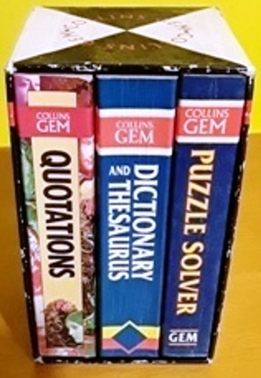 Collins Gem (Complete 3 Book Box Set)