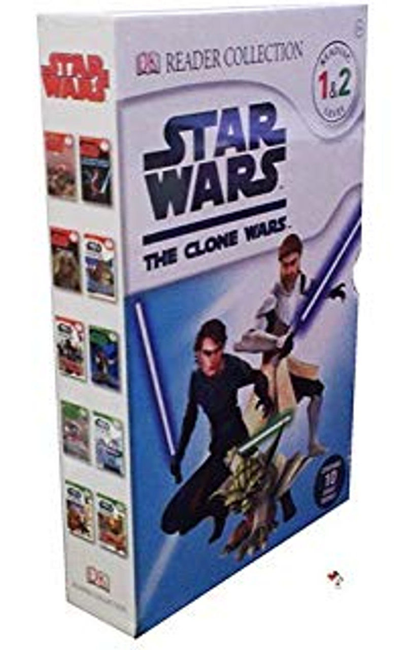 Star Wars Reader Collection: The Clone Wars (Complete 10 Book Box Set)