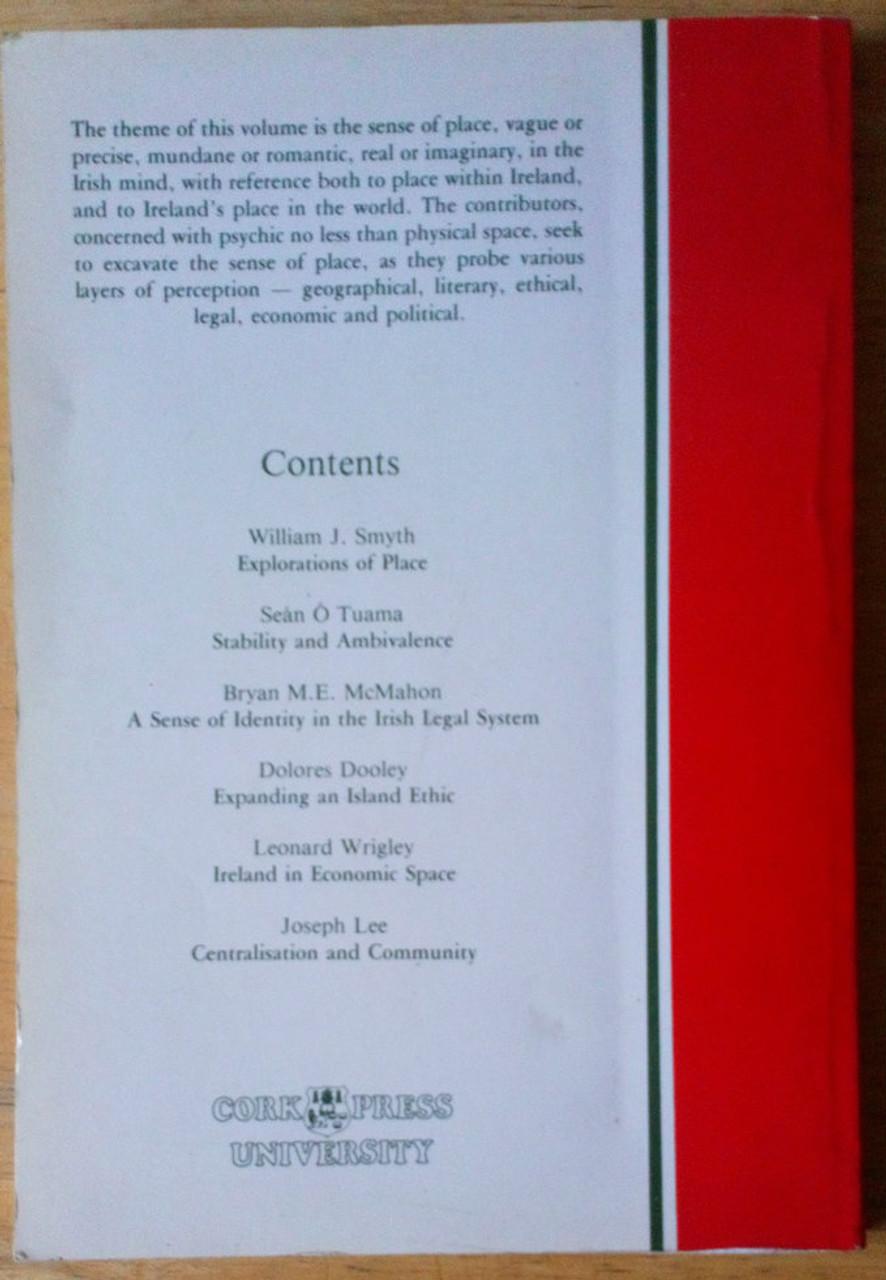 Lee, Joseph ( Editor) Ireland - Towards a sense of place PB 1985 - History & Society