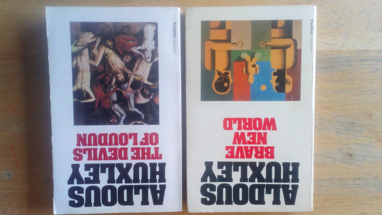 Huxley, Aldous - Brave New World & The Devils of Loudon - 2 Vintage Panther PB