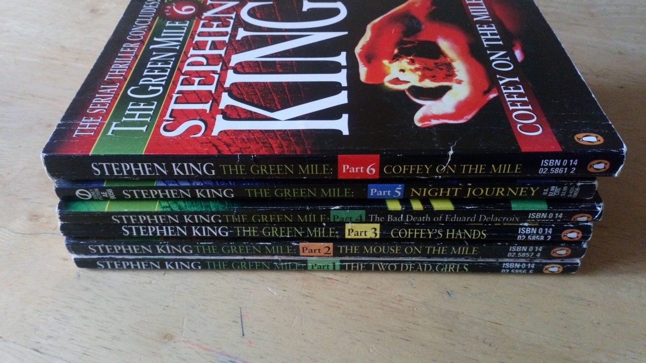 King, Stephen - The Green Mile - Original 6 Part Serial Format ( 6 Paperbacks) 1996