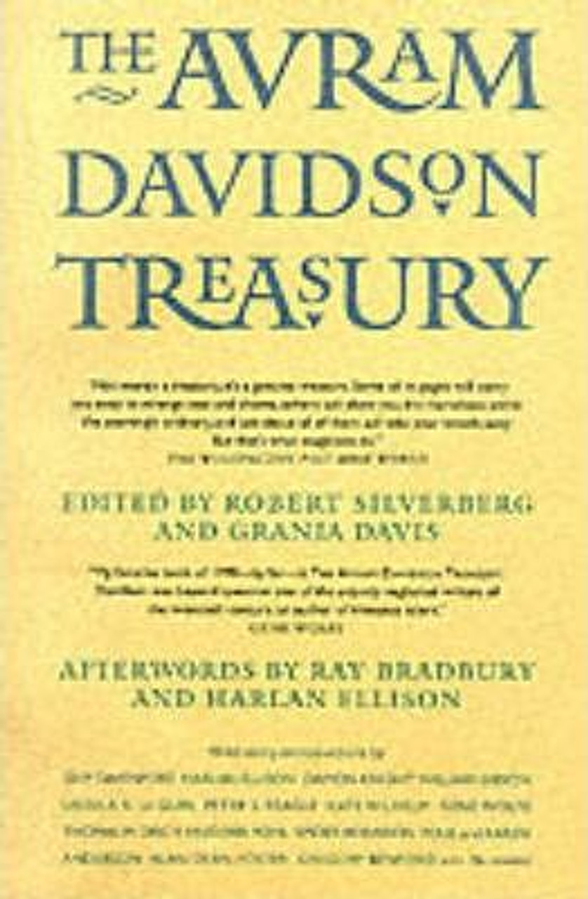 Silverberg, Robert ( Ed) - The Avram Davidson Treasury - PB - Short Stories 1998