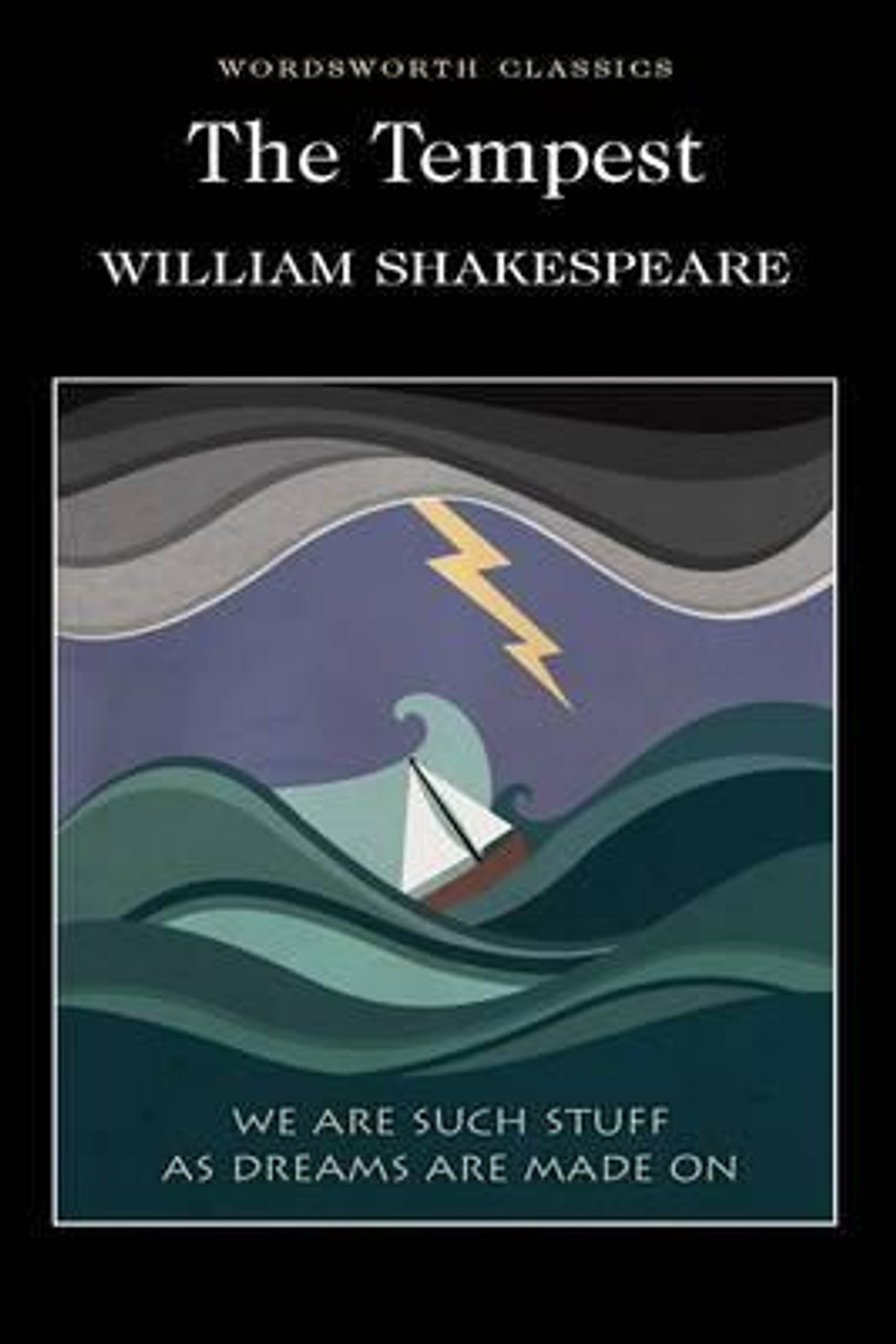 Shakespeare, William - The Tempest - Wordsworth Classics Ed PB - BRAND NEW