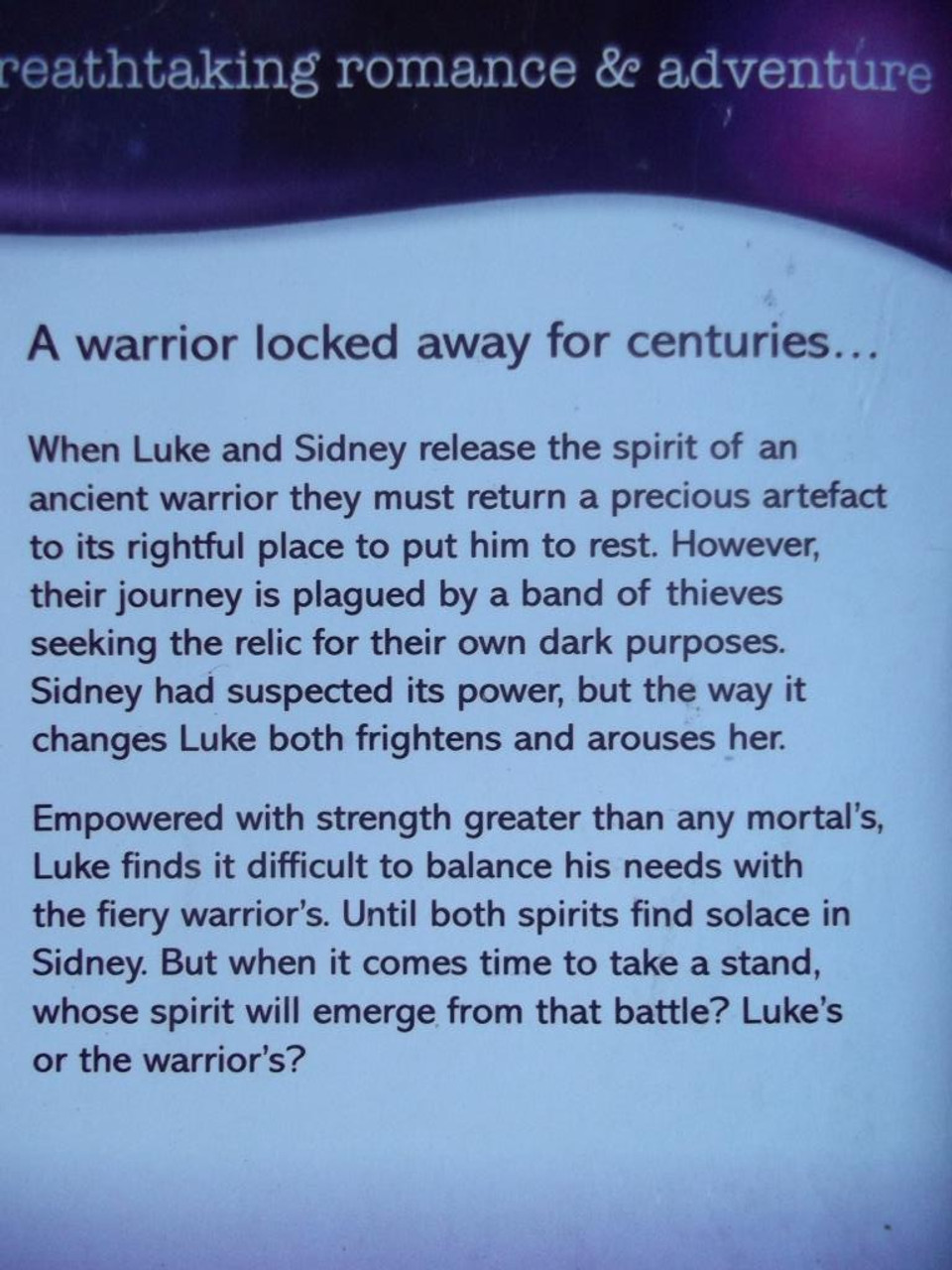 Mills & Boon / Intrigue / Return Of The Warrior
