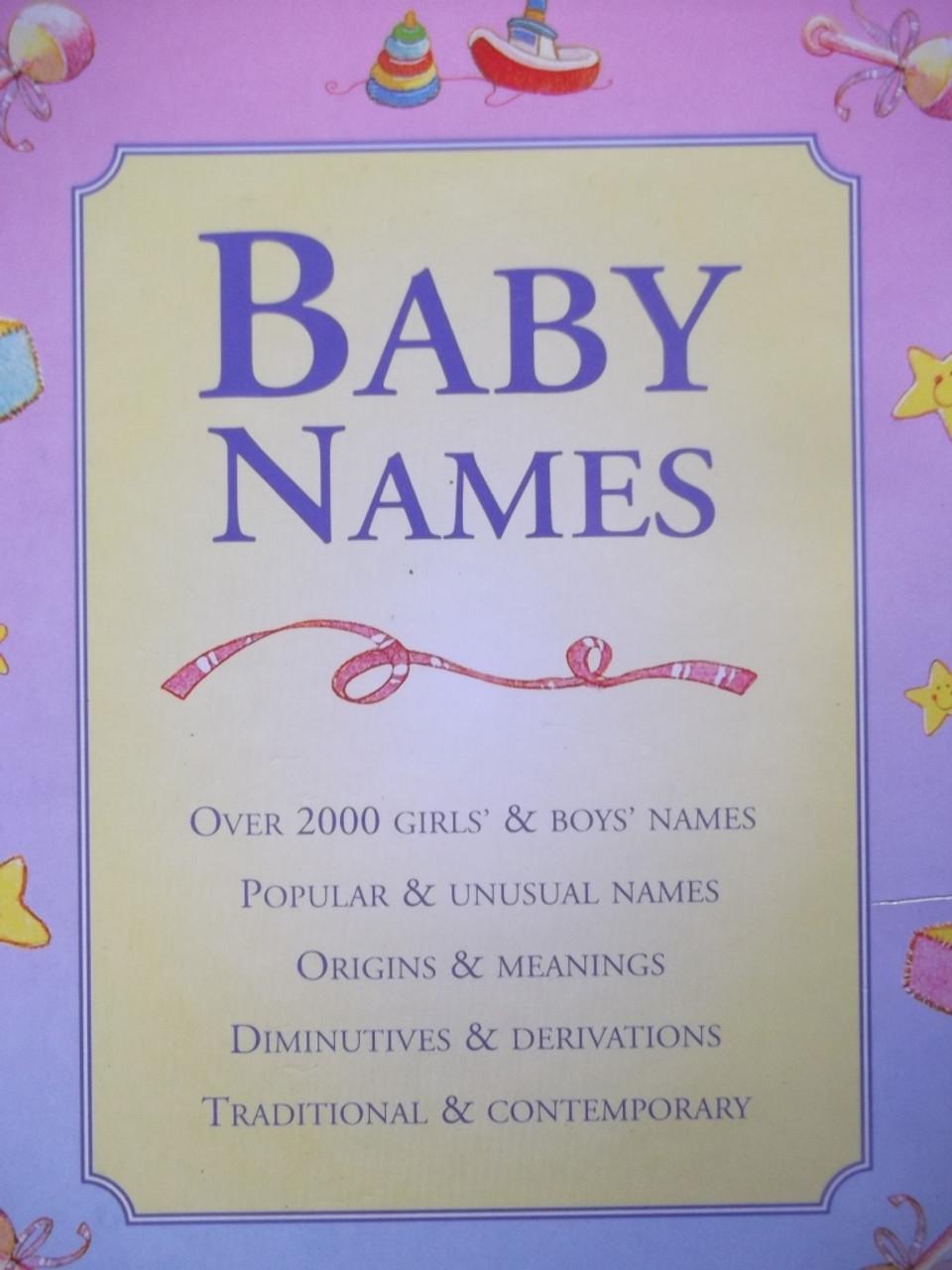 Baby Names / ref