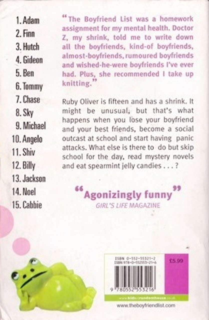 Lockhart, E  / The Boyfriend List