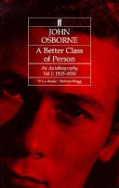 Osborne, John / A Better Class of Person