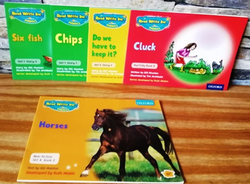 Read Write Inc. Phonics (5 book Collection)
