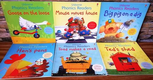 Usborne Phonics Readers (6 Book Collection)