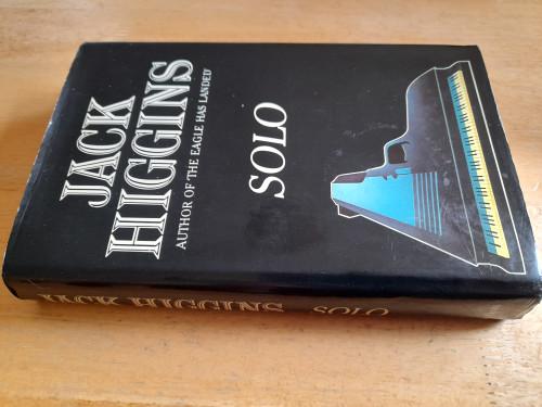 Higgins, Jack - Solo - HB 1st Edition - 1980