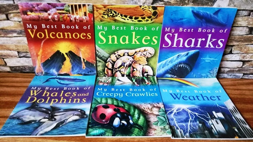 My Best Book of (6 Book Collection)
