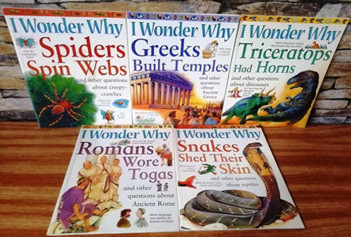 I Wonder Why (5 Book Collection)