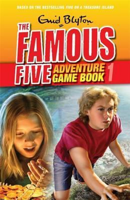 Blyton, Enid / Famous Five: Adventure Game Books: Search For Treasure : Book 1