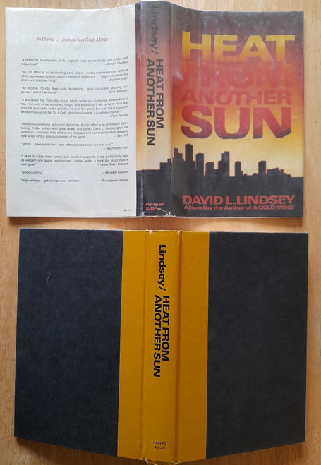 Lindsey, Dave - Heat From Another Sun - HB USA 1984